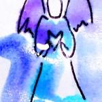 anjel srdce