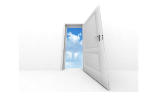 door-opening-to-the-sky