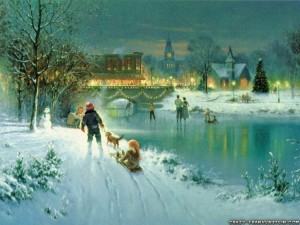 night-winter-playing-old-christmas-wallpapers